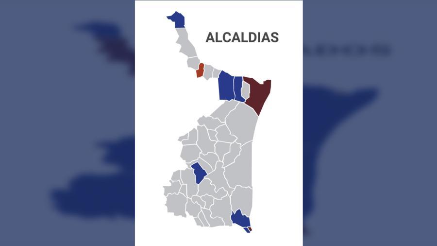 Alcaldes: Aventaja PAN con 6 municipios y MORENA con 2 de los más importantes del estado