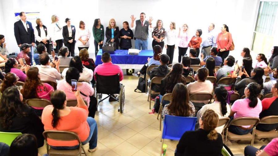 Ofrece DIF Reynosa primer curso de lengua de señas mexicana