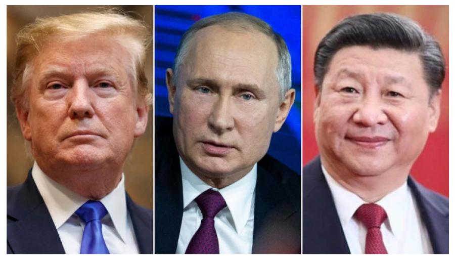 Anuncia Trump reunión con Xi Jinping y Putin, pero Rusia lo niega