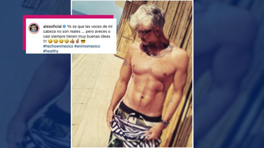 Alejandro Fernández enciende Instagram con sexy fotografía