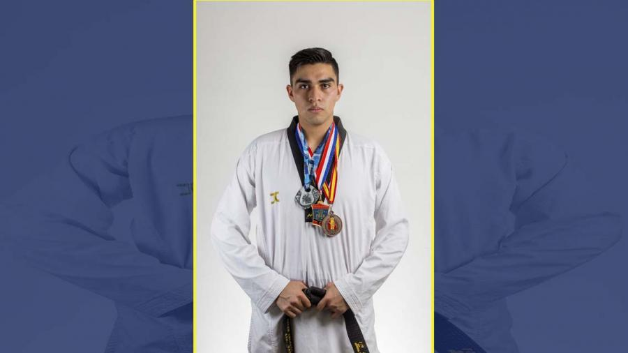 Taekwondoín tamaulipeco obtiene pase a Centroamericanos Barranquilla 2018
