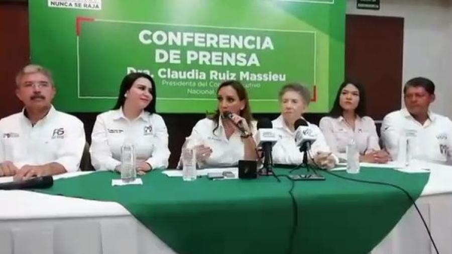Asegura presidenta del PRI contar con candidatos bien evaluados