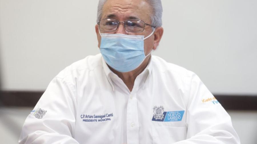 Baja número de pacientes Covid-19 hospitalizados en Nuevo Laredo