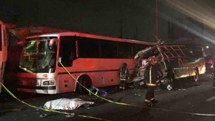 9 muertos tras accidente automovilístico en carretera México-Pachuca