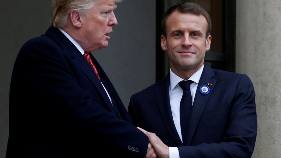 Francia contraataca y tacha a Trump de 'indecente'