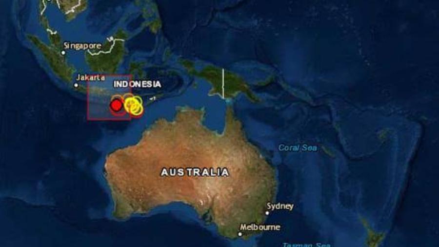 Sismo de 5.7 grados de magnitud sacude Bali