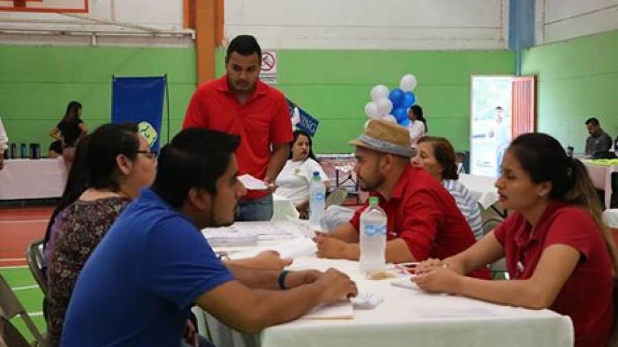 Realizan segunda Expo Feria del Empleo en Río Bravo