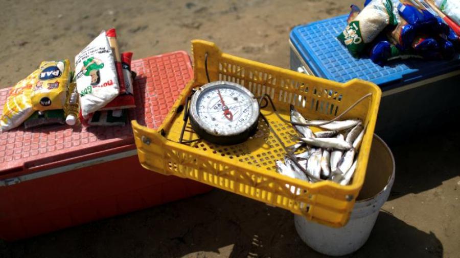 Venezuela regresa al trueque, pescado por medicina