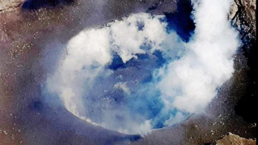 Se forma domo 82 en volcán Popocatépetl
