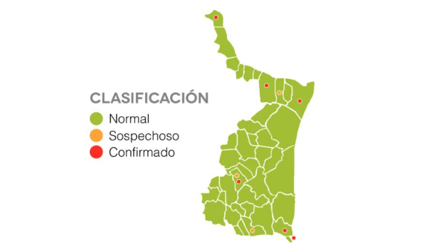 Se eleva a 8 los casos de covid-19 en Tamaulipas e investigan posible primera muerte