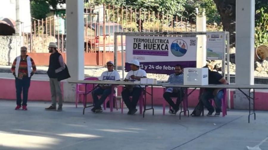 Inicia consulta ciudadana sobre la termoeléctrica en Morelos