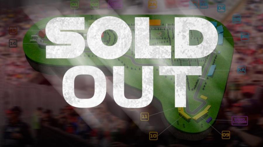 Anuncian boletos agotados del GP de México