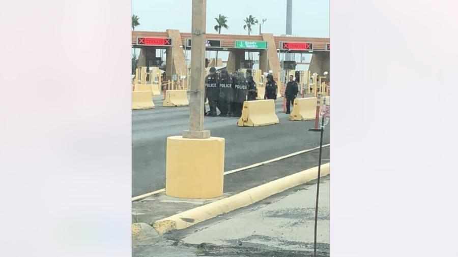 Realizan simulacro en Puente Internacional Reynosa-Hidalgo
