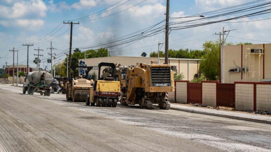 Se han invertido casi dos mil millones de pesos en obra pública durante estos 3 años en Matamoros