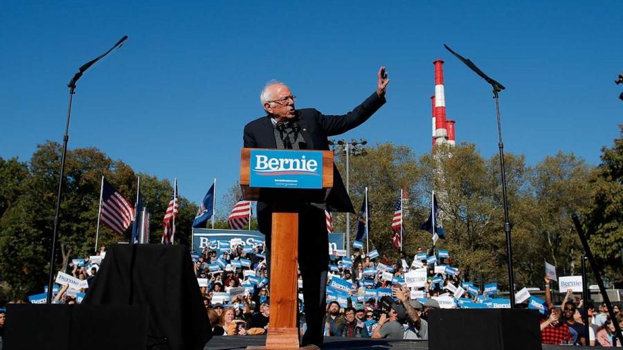 Bernie Sanders continúa con su campaña electoral