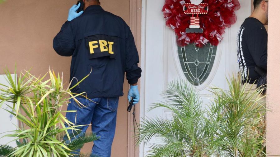 Agentes de FBI catean casa de figura política en Edinburg