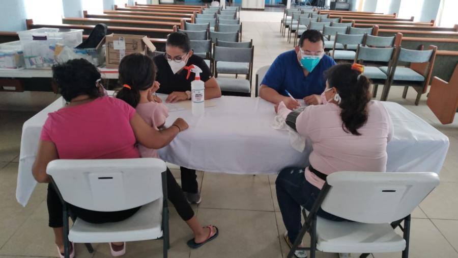 Asiste Municipio de Reynosa salud de migrantes