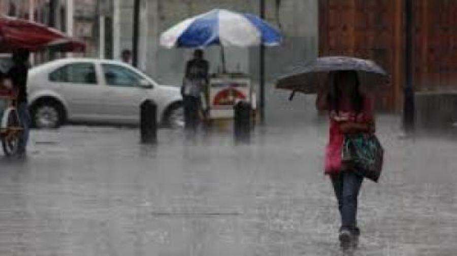 Clima caluroso y lluvias predominarán en gran parte del país