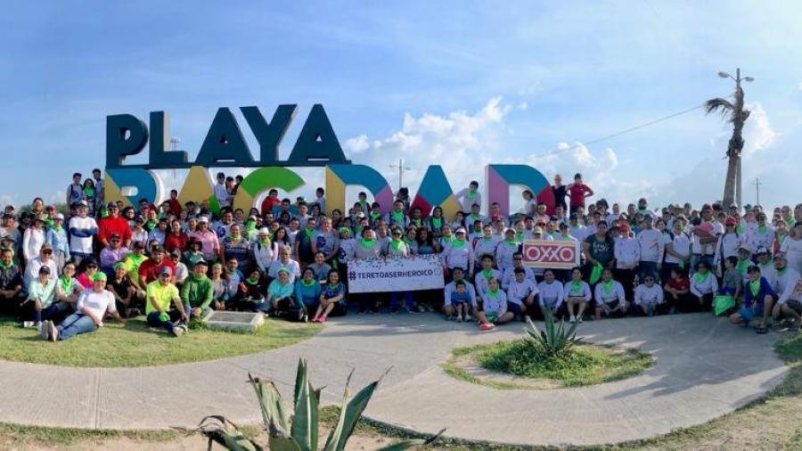 """Suma Matamoros a más de 600 voluntarios  en """"Día Internacional de Limpieza de Playas"""""""