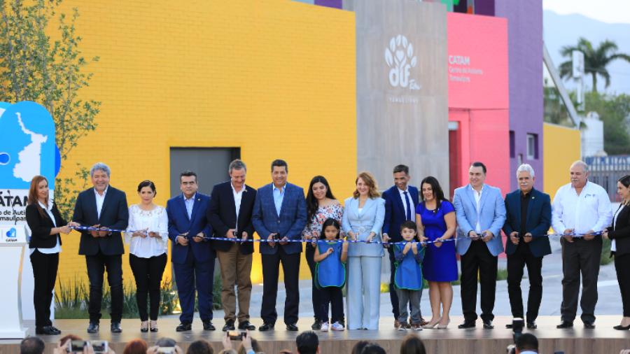 Gobierno del Estado y DIF Tamaulipas inauguran el Centro de Autismo Tamaulipas