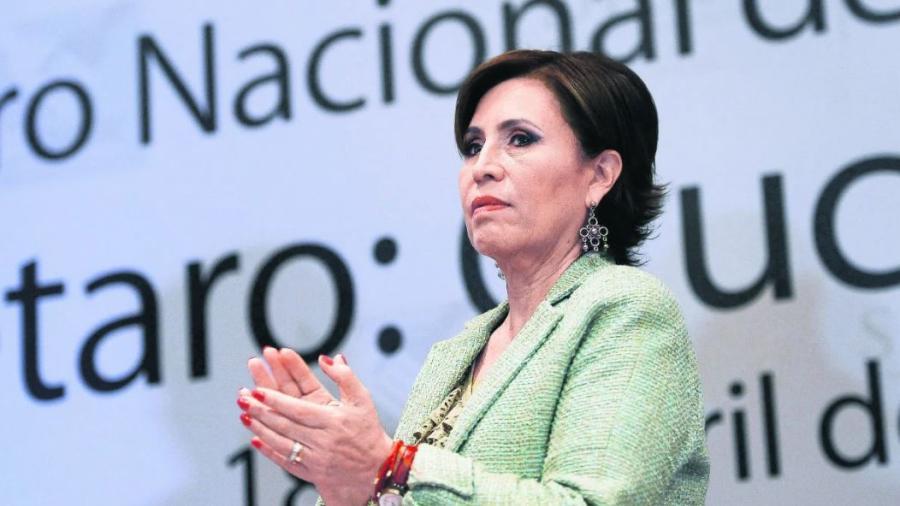 Acusa UIF a Rosario Robles de desaparición de 16 mdp en un día