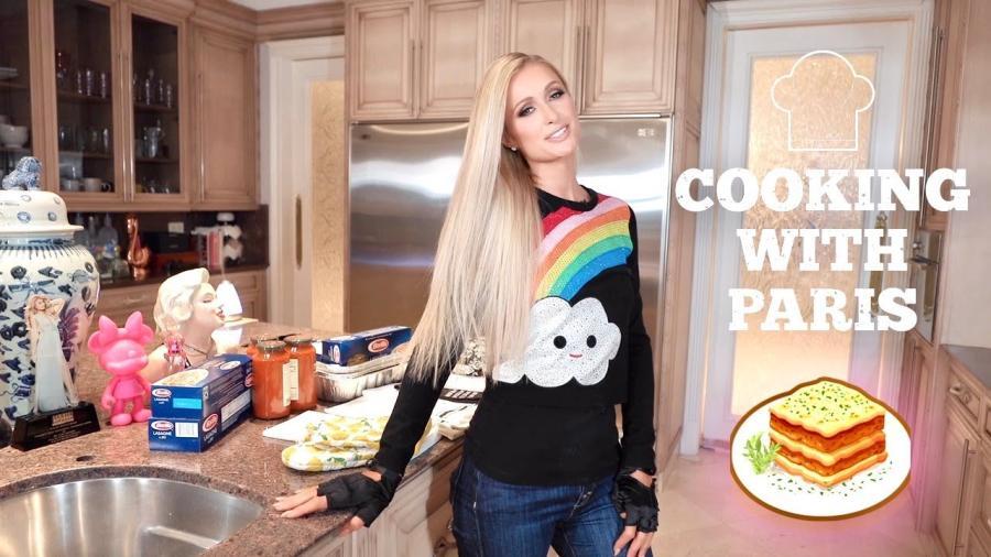 Paris Hilton lanza su canal de cocina en YouTube