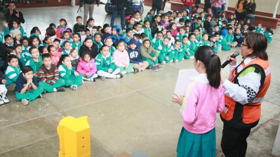 Lleva Tránsito Victoria educación vial a primarias