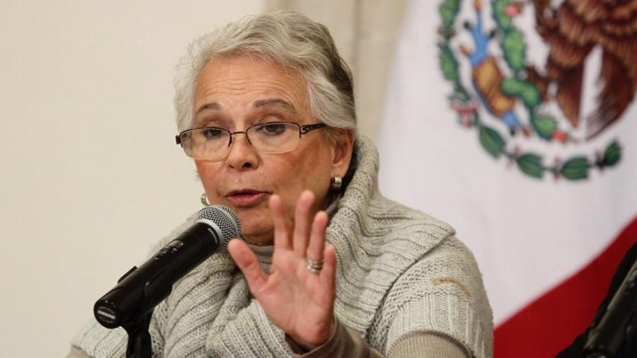 Captura del Marro resultado de la coordinación de instituciones: Olga Sánchez Cordero