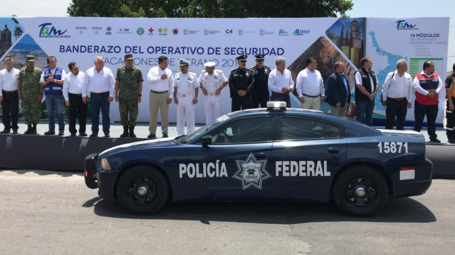 Da gobernador Banderazo a Operativo de Seguridad Verano 2019