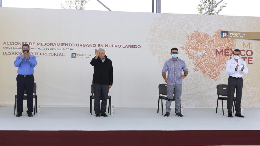 Solicita Gobernador atender coordinadamente problemática de distribución de agua en el norte de Tamaulipas