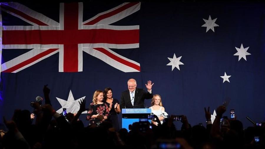 Conservadores ganan elecciones en Australia