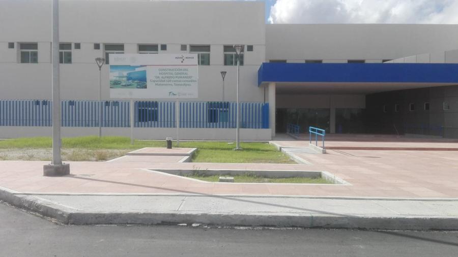 Hombre pierde la vida afuera del Hospital General de Matamoros tras negarle la atención médica