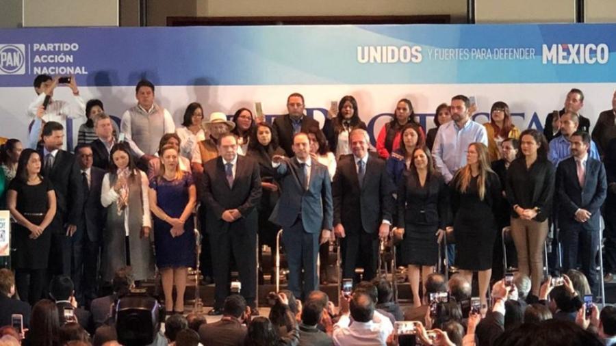 Marko Cortés asume la presidencia nacional del PAN