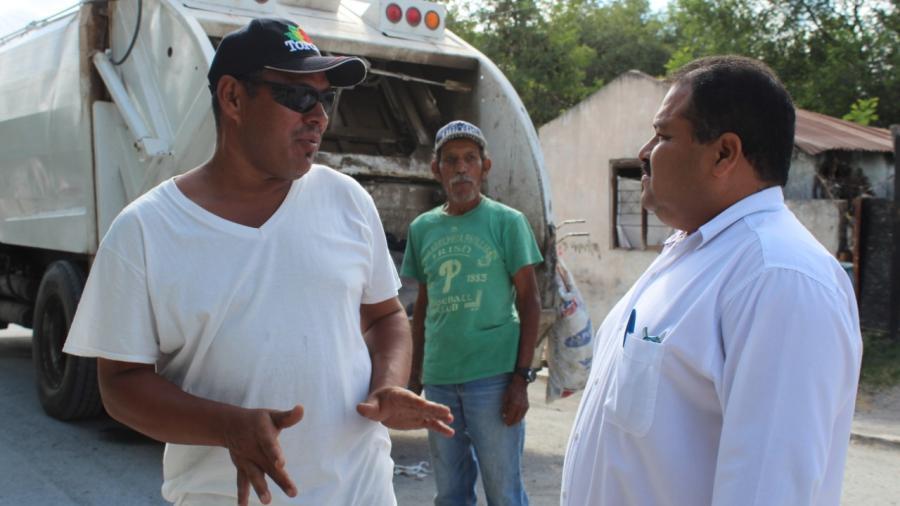 El Gobierno municipal avanza en recolección de basura.