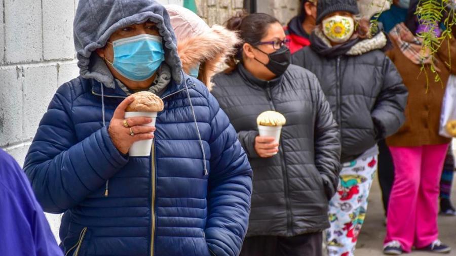 DIF Reynosa atiende a familias vulnerables por bajas temperaturas