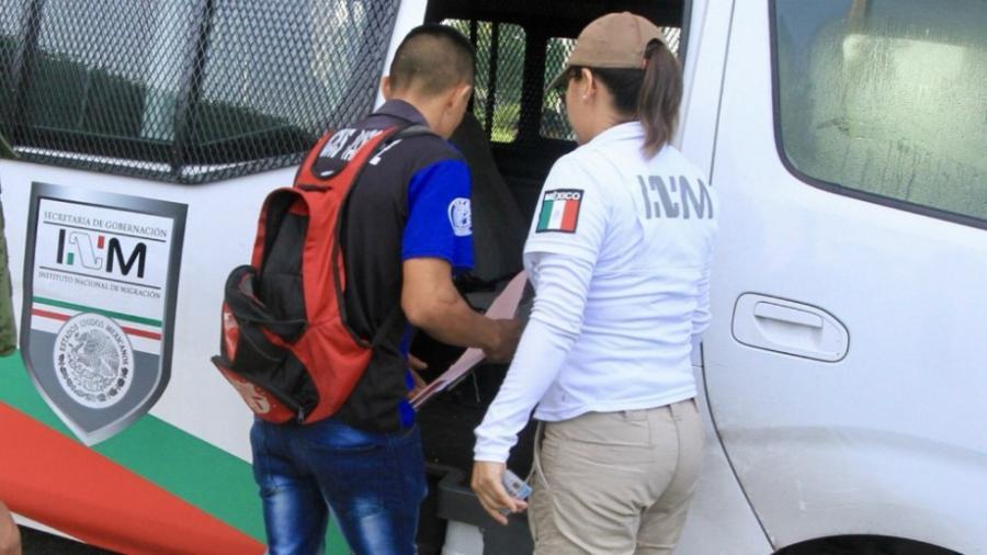 Aseguran en Zacatecas a 50 migrantes centroamericanos