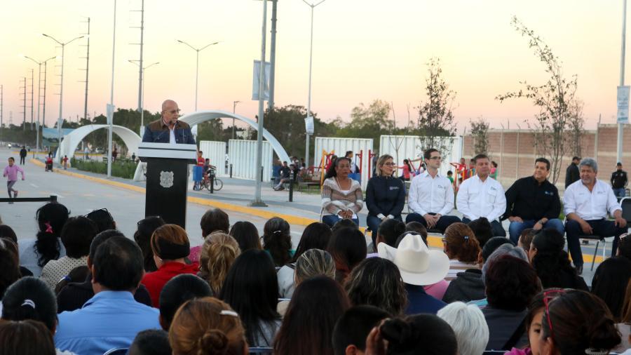 Obras del Gobierno de Tamaulipas impulsan la conectividad y movilidad urbana