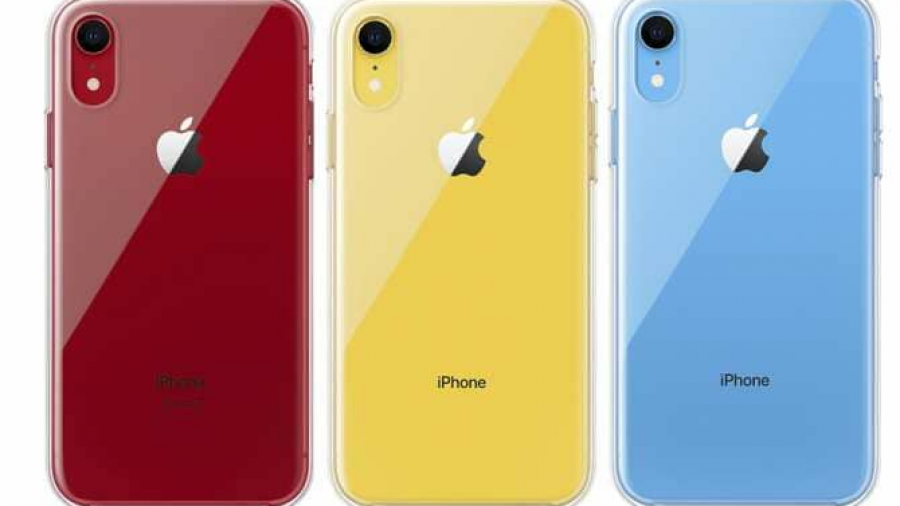 Lanza Apple funda transparente para el iPhone XR