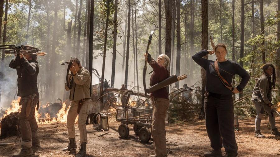 """Revelan imágenes de la nueva temporada de """"The Walking Dead"""""""
