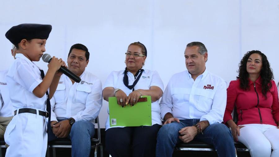 Gobierno brinda total respaldo a la niñez maderense