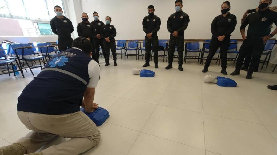 Realiza la USJT curso de Primer Respondiente en Atención Prehospitalaria