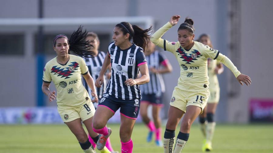 Rayadas rescatan agónico empate a 2 en la semifinal de ida