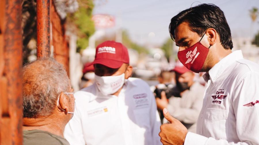 Apoyan ciudadanos a Carlos Peña Ortiz
