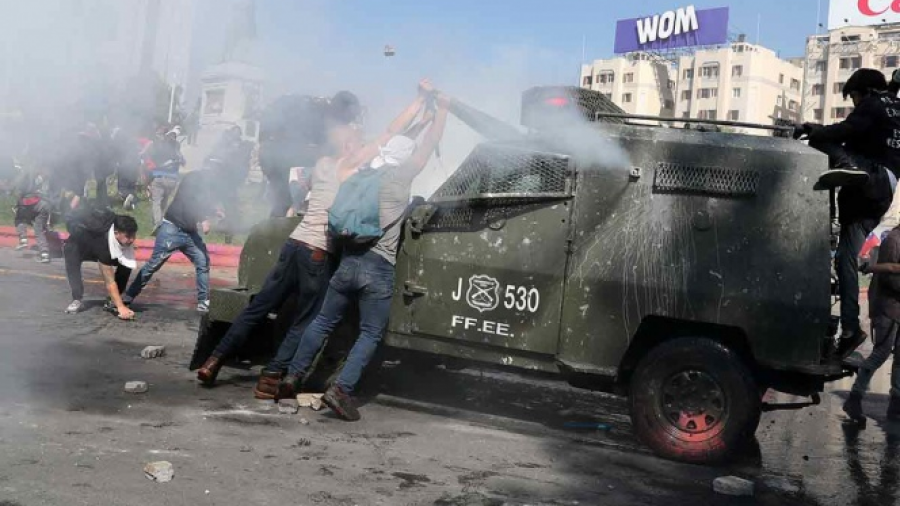Nuevo toque de queda en Chile ante protestas