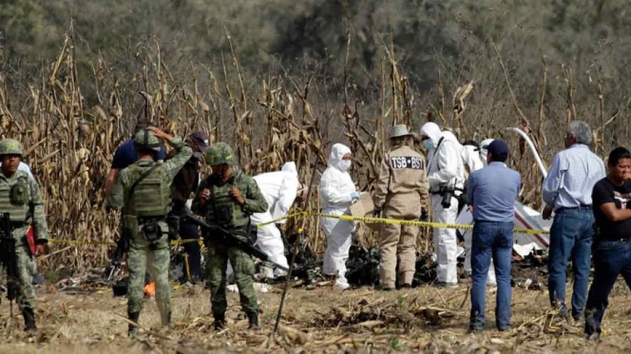 Presentan avances de accidente de helicóptero en Puebla