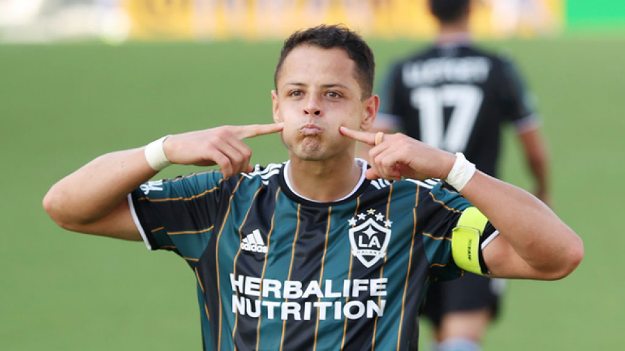 'Chicharito' protagonizó victoria del Galaxy ante Miami