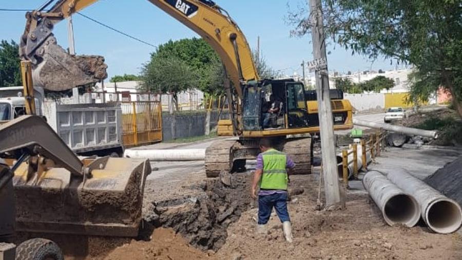 70% de avance en reparación de Paseo de la Cañada