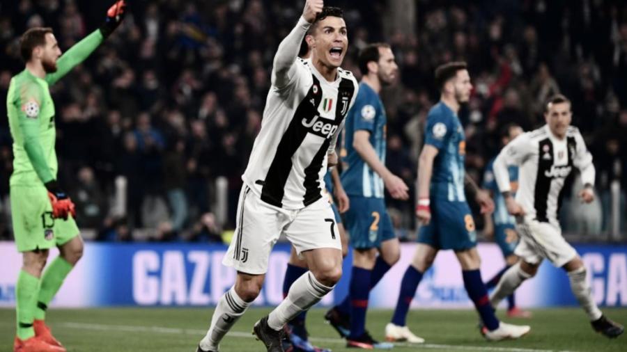 Cristiano Ronaldo clasifica a la Juventus a Cuartos de Final