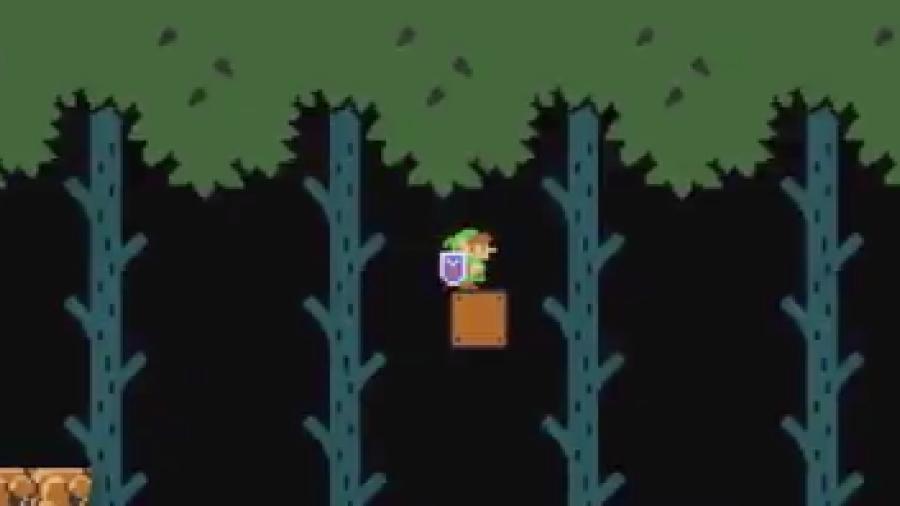 ¡Super Mario se transformará en Link!