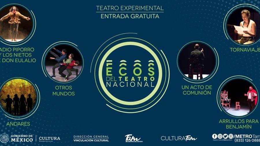 """""""Ecos del Teatro Nacional""""  Invita al Teatro en Tampico"""